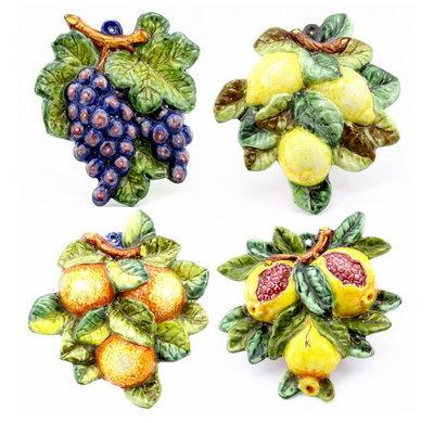 Fruit in relief cm 20