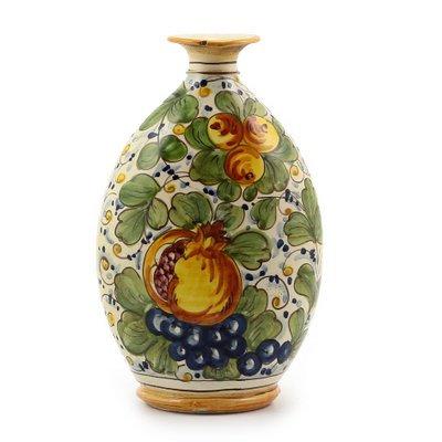 Oval bottle cm 17 H cm 25