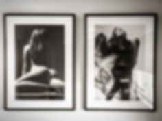 B&W Nude Photo framing Melbourne
