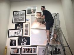 Art hanger Art installers