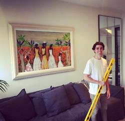 Professional Art Hanging