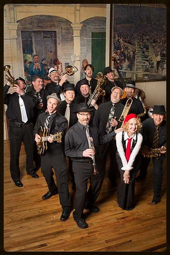Swingaroux new orleans swing big band, new orleans wedding dance band
