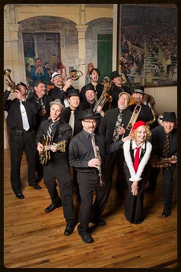 Swingaroux new orleans swing big band, new orleans wedding dance band