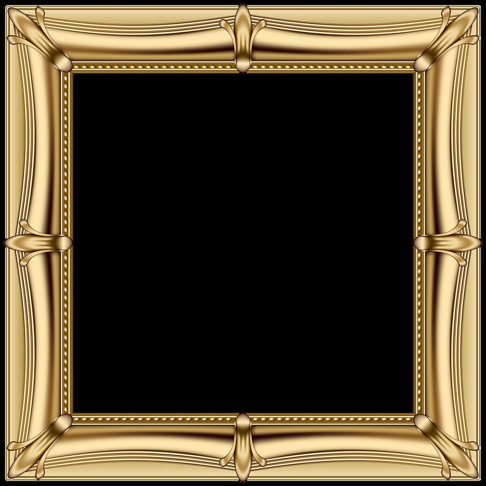 Gold_Frame_PNG_Transparent_Clip_Art_Imag