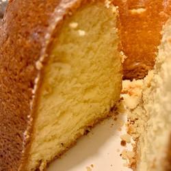 Lemon Butter Pound Kake