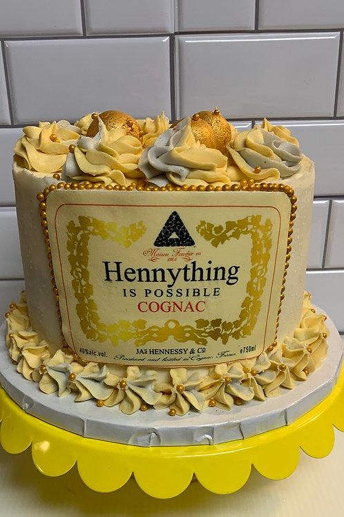 Theme Beverages Cake