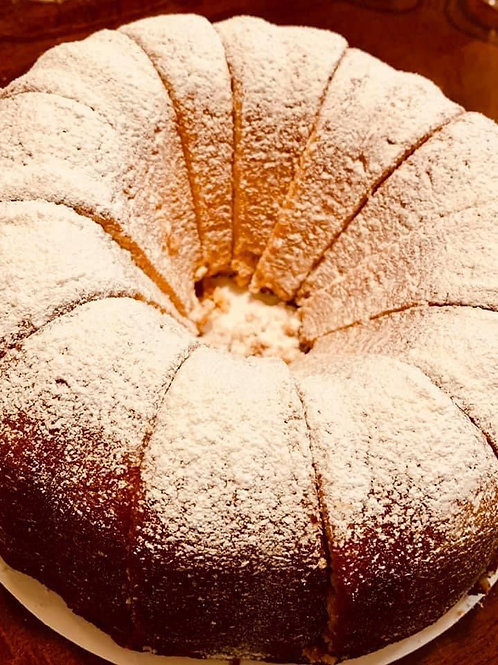 Pound Cake Sugar Powder