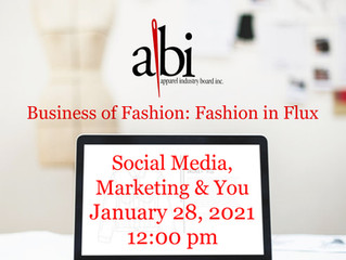 Fashion In Flux - Social Media, Marketing, & You