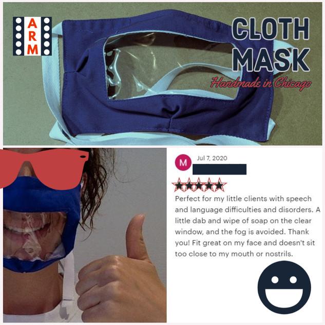 Etsy - communication masks