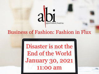 Fashion In Flux - Disaster Is Not The End