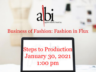 Fashion In Flux - The Steps To Production