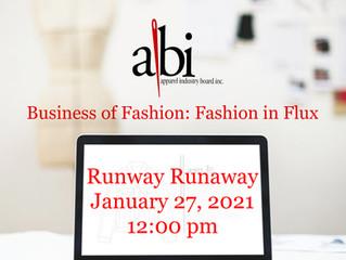 Fashion in Flux - Runway Runaway?