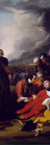 The Death of General Wolfe - 1770