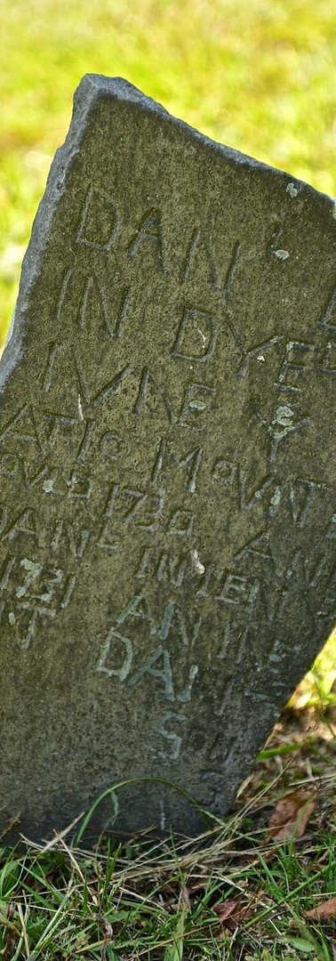 Daniel's Grave Marker
