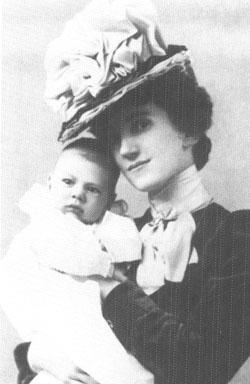 Maud Humphrey Bogart and Baby Humphrey T