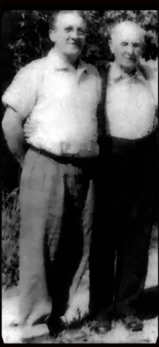 Lee Orville Collins and his Father Cary