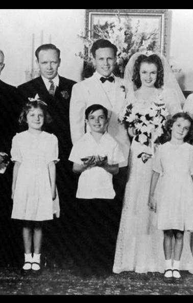 Norma Jean and James Dougherty ~ Wedding