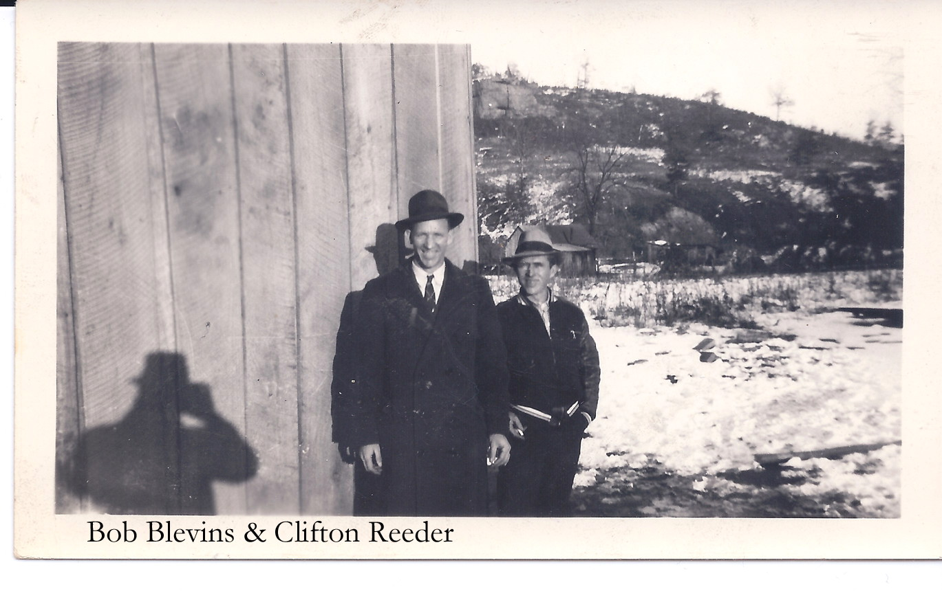 Bob Blevins and Clifton Reeder