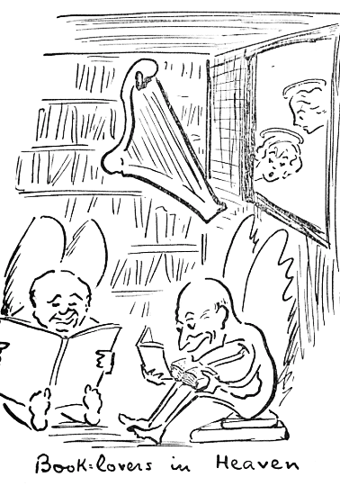 Book lovers in Heaven by Clarence Day Jr.