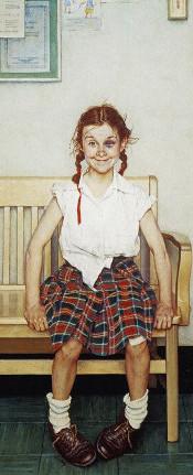 Girl With Black Eye 1953