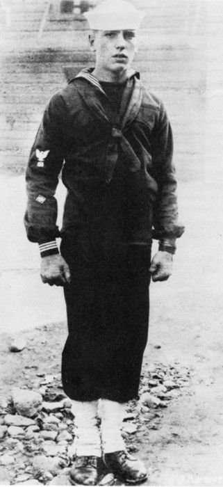 Humphrey DeForest Bogart in the Navy
