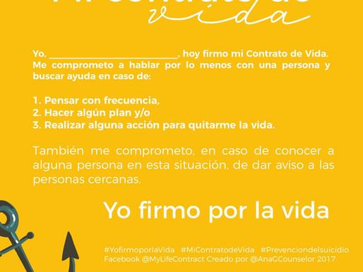 Mi contrato de vida / My life contract