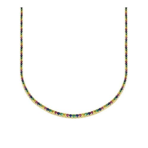 Colgante Misha Rainbow oro