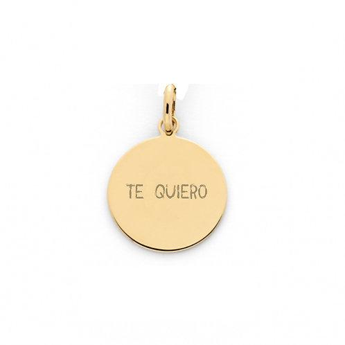 Medalla personalizada Mile Oro