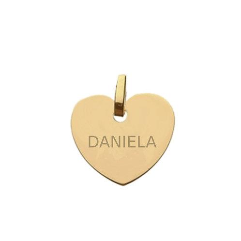 Medalla personalizada Lover Oro