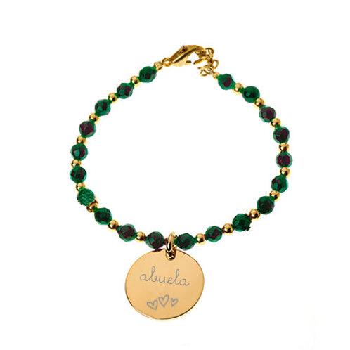 Pulsera personalizada jade