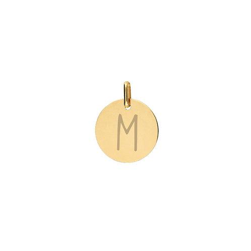 Medalla personalizada Mile mini Oro