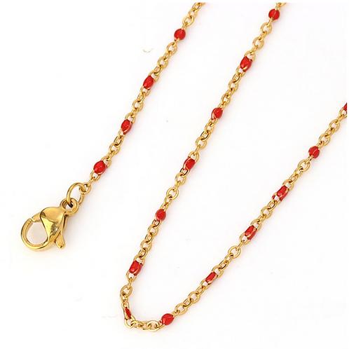 Colgante Bowi Red Oro