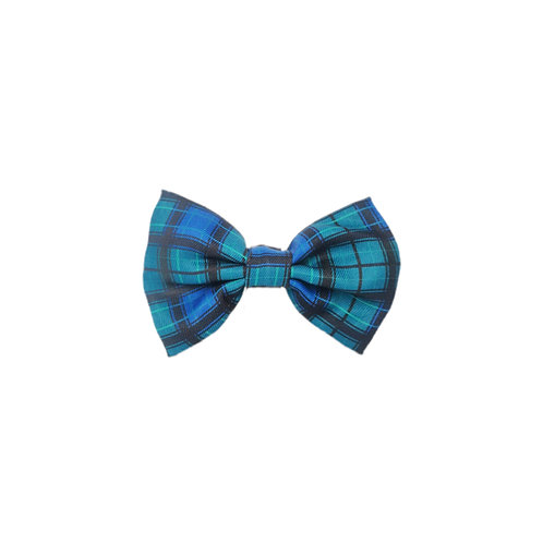 Pawfect Plaid Bow Tie