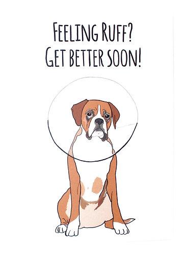 Card - Feeling Ruff (Get Better Soon!)