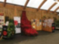 Poppy Cascade and exhibition.JPG