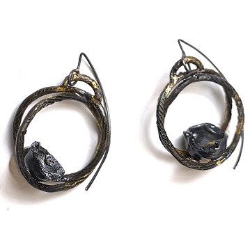 trellis earrings