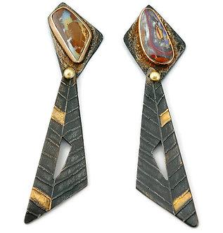 syncopated earrings