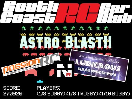 South Coast RC Astro Blast!!