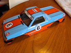 Tamiya Subaru Brat Gulf Racing
