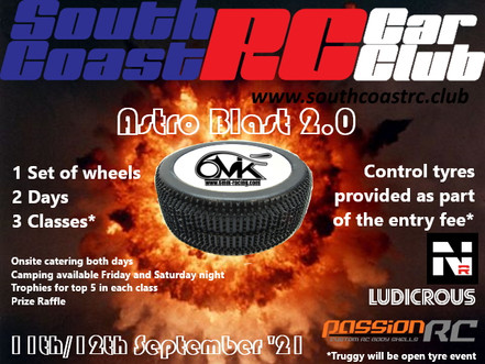 SCRC Astro Blast 2.0