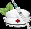 logo шприц медицинский