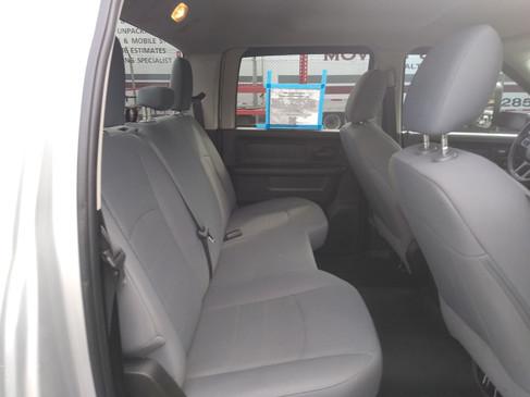 Interior - Rear Seats