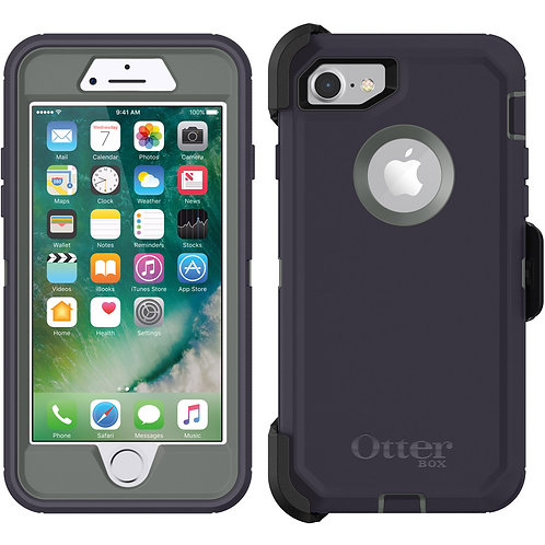 OtterBox Defender Case for Apple iPhone 8 / 7 - Stormy Peaks