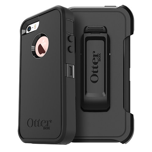 OtterBox Defender Case for Apple iPhone SE / 5s / 5 - Black