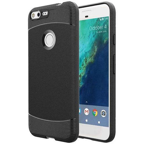 Google Pixel XL (1st Gen) Rome Tech OEM Matte Silicone Case Cover - Black