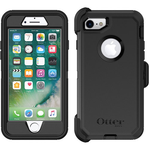 OtterBox Defender Case for Apple iPhone 8 / 7 - Black