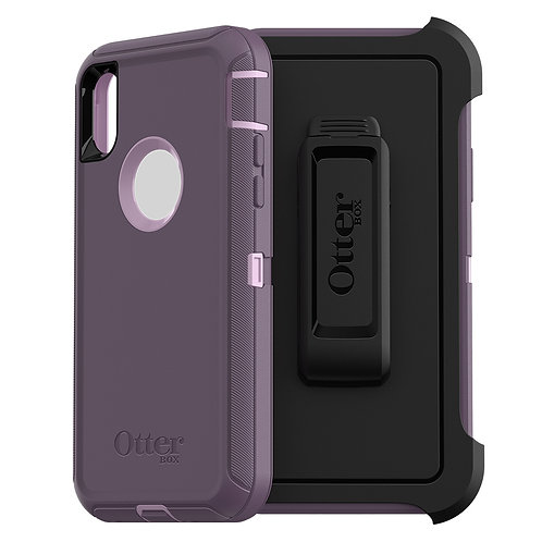 OtterBox Defender Case for Apple iPhone Xs / X - Purple Nebula