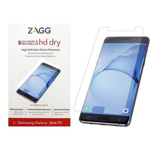 Zagg Invisible Shield HD Dry Screen Protector Kit for Samsung Galaxy Note 7 / FE