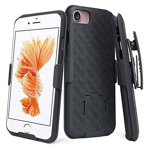 Apple iPhone 7/8 Rome Tech OEM Shell Holster Combo Case - Black