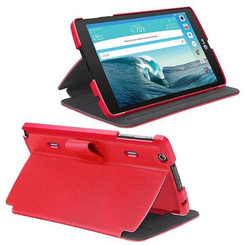 LG G Pad X8.3 Rome Tech OEM Folio Case w/Clip - Red